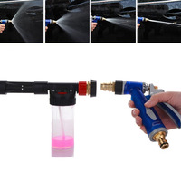 High Pressure Car Washer Water Spray Gun Lengthening Soap Shampoo Foam Spray Gun Lance Interior Deep