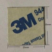 30 قطعة 25x25 مللي متر تبديد الحرارة ملصقا تبديد الحراري لاصق موصل نقل الأشرطة مزدوجة الوجهين