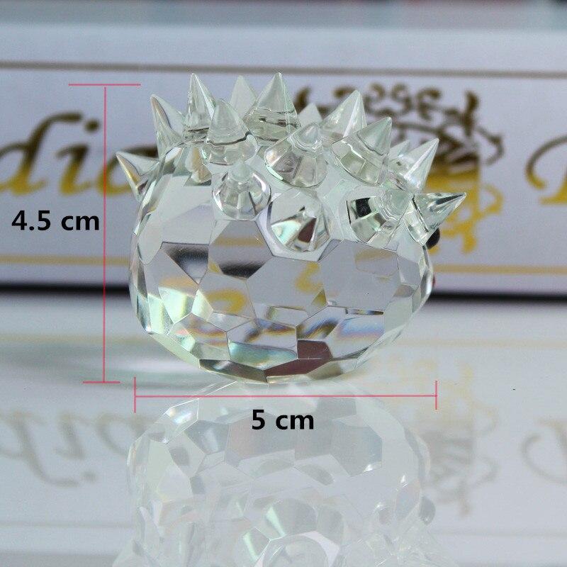 XINTOU Crystal Glass Animals Ոզնին Նկարներ - Տնային դեկոր - Լուսանկար 5