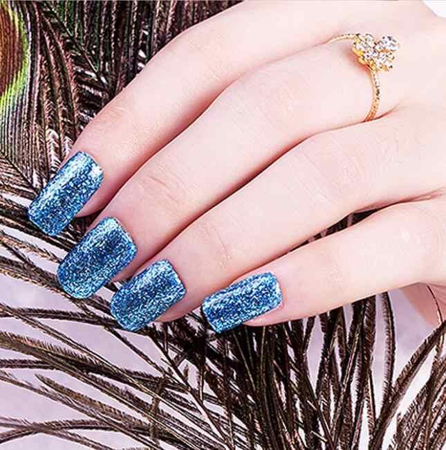 KADITION nuevo Gel súper Color pinturas cristal laca uñas arte UV LED remojo de platino brillo perla diamantes Gel uñas polaco
