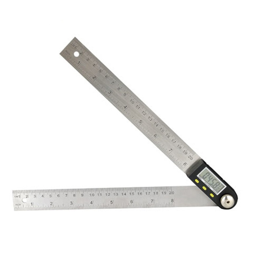 Paractical 2 In 1 Digital Angle Ruler Protractor 360 Degree 200mm Electronic Digital Protractor Angle Meter Angle Finder цены