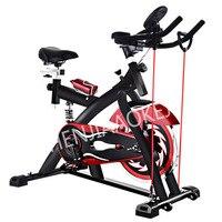 Шт. 1 шт. Indoor Упражнение педаль велосипед Спорт Тренажерный зал оборудование музыкальный бытовой спин байк нагрузки 300 кг