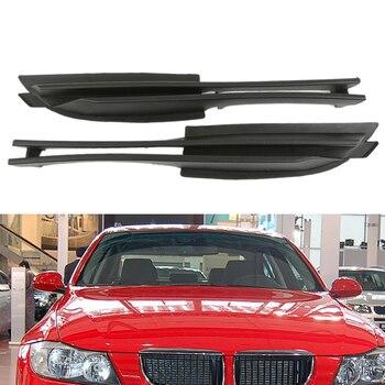 زوج من السيارات الأمامي الأيسر والأيمن الضباب الوفير السفلى منفذ الهواء شبكات يناسب لسيارات BMW E46 320i 330i 325xi 2001-2005