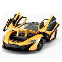 RASTAR 1:24 McLaren alloy sports car static car pull back car model collection gift 56700
