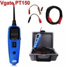 Sistema Eléctrico Del Coche de DHL HKP Envío Vgate PowerScan Pt150 Alimentación Sonda Automotive Electric Circuit Tester Herramienta de Diagnóstico