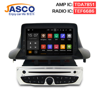 Android7.1 Car Stereo Lettore DVD GPS Glonass Navigazione per Renault Megane 3 Fluence 2 GB RAM Video Multimedia Radio headunit