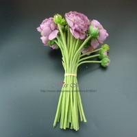 אינדיגו-סיטונאי 50 סטים הכלה רוז חתונה (30 נובע/bundle) זר משלוח חינם מסיבת תה פרח רוז משי פרח הפרחים
