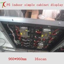960*960 мм 16 сканирования P5 HD smd3528 полноцветный просто шкаф дисплей/40000 dots/m2