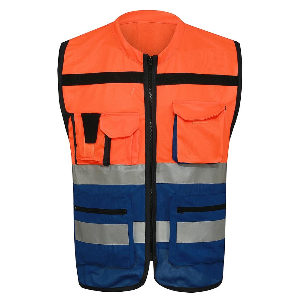 mnds red blue reflective safety vest chaleco reflectante yellow safety vest reflective vest. Black Bedroom Furniture Sets. Home Design Ideas