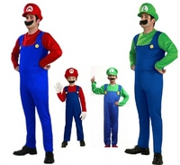 Mens Super Mario Brothers Fancy Dress Up Party Costume Hat