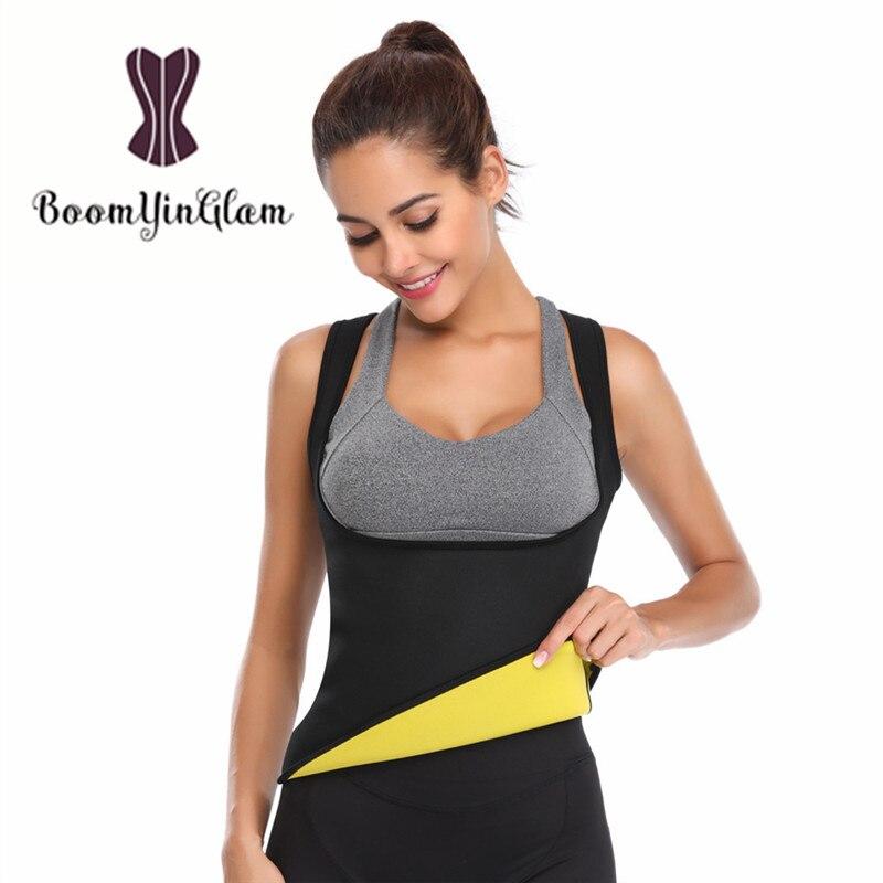 606 неопрена Сауна корсет жилет Вес потери боди Горячая Body Shaper жилет для похудения для Для женщин Большие размеры xs-6xl