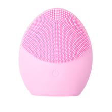 New Electric Facial Cleansing Brush Silicone Vibration Mini Cleaner Deep Pore Cleaning Skin Massage Face