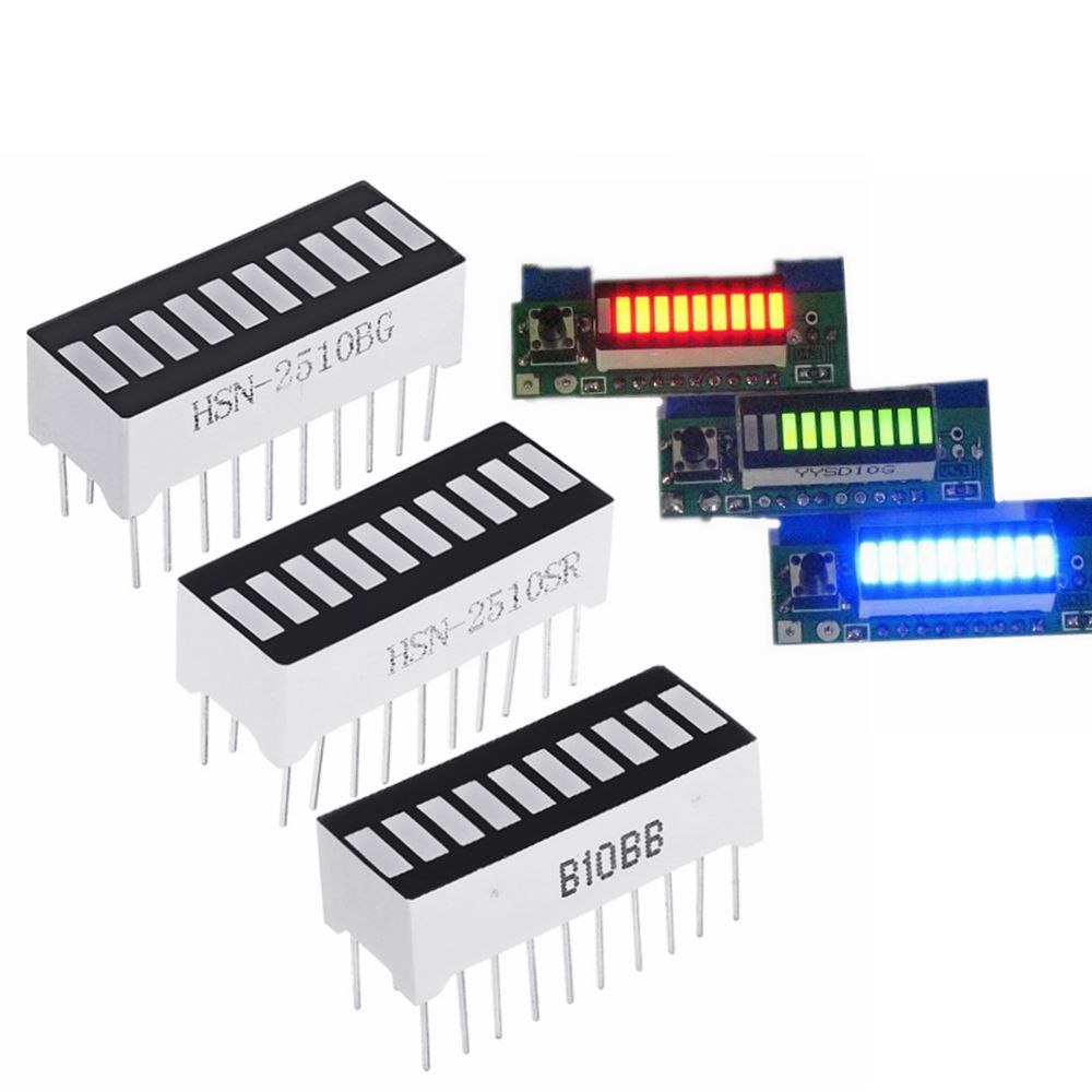 1pc LM3914 Battery Capacity Indicator Module LED Power Level Tester Display Board