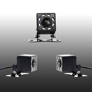 Image 3 - IP68 Impermeabile Auto Videocamera Vista Posteriore 8 luci A LED HD di Visione notturna 170 Gradi dellautomobile del Precipitare Della Macchina Fotografica Universale Parcheggio Retromarcia Della Macchina Fotografica