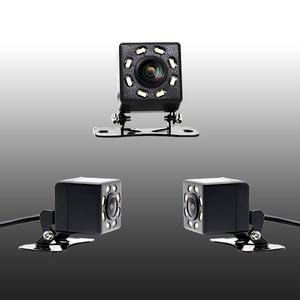 Image 3 - IP68 Waterproof Car Rear View Camera 8 LED Lights HD Night Visions 170 Degree Car Dash Camera Universal Reverse Parking Camera