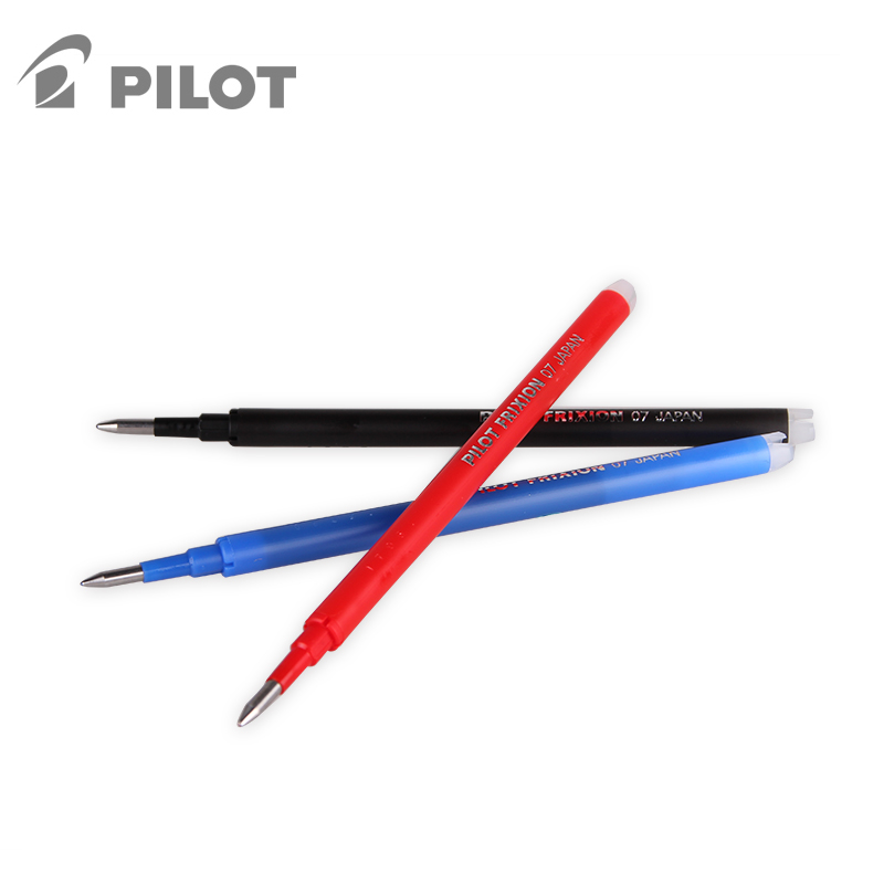 Pilot Erasable Pen Refills Colored Erasable Gel Pens Refill Ballpoint Pen Refills School Stationery Office Supplies 0.7 BLS-FR7