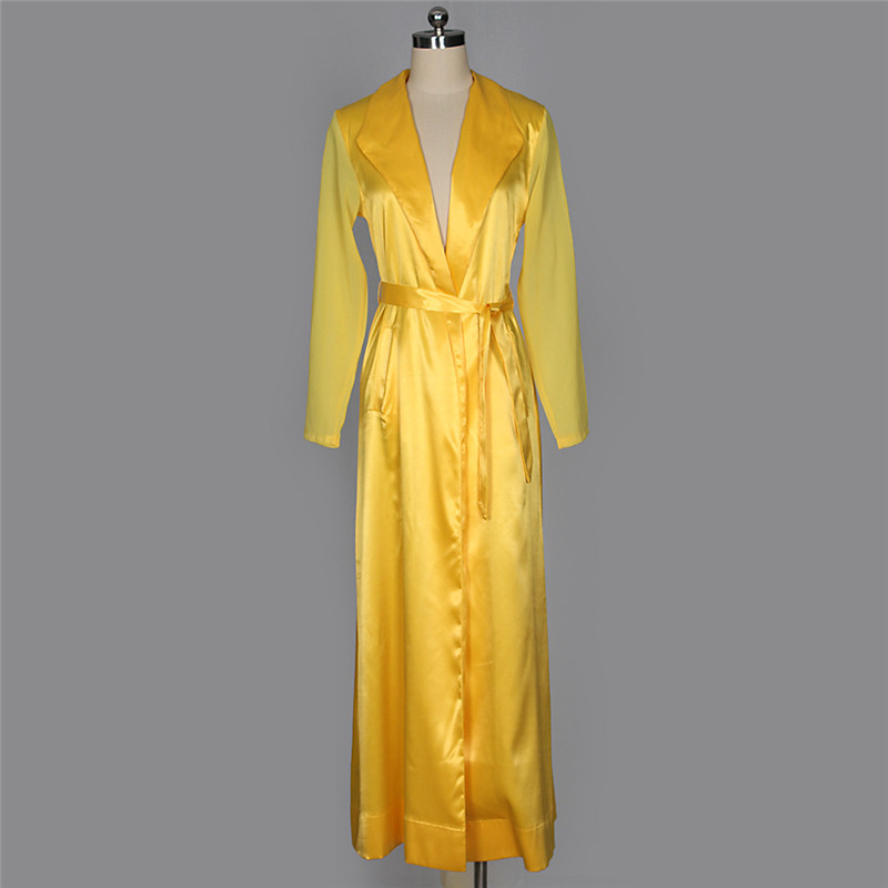 autumn chiffon sleeve long trench outwear-16