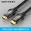 Конвенция HDMI Кабель Мужчина к Мужчине Золотой Покрытием HDMI 2.0 В 1080 P 3D Для Ps3 Xbox HDTV Компьютерные Кабели (0.75 м, 1 м, 1.5 м, 2 м, 3 м, 5 м)