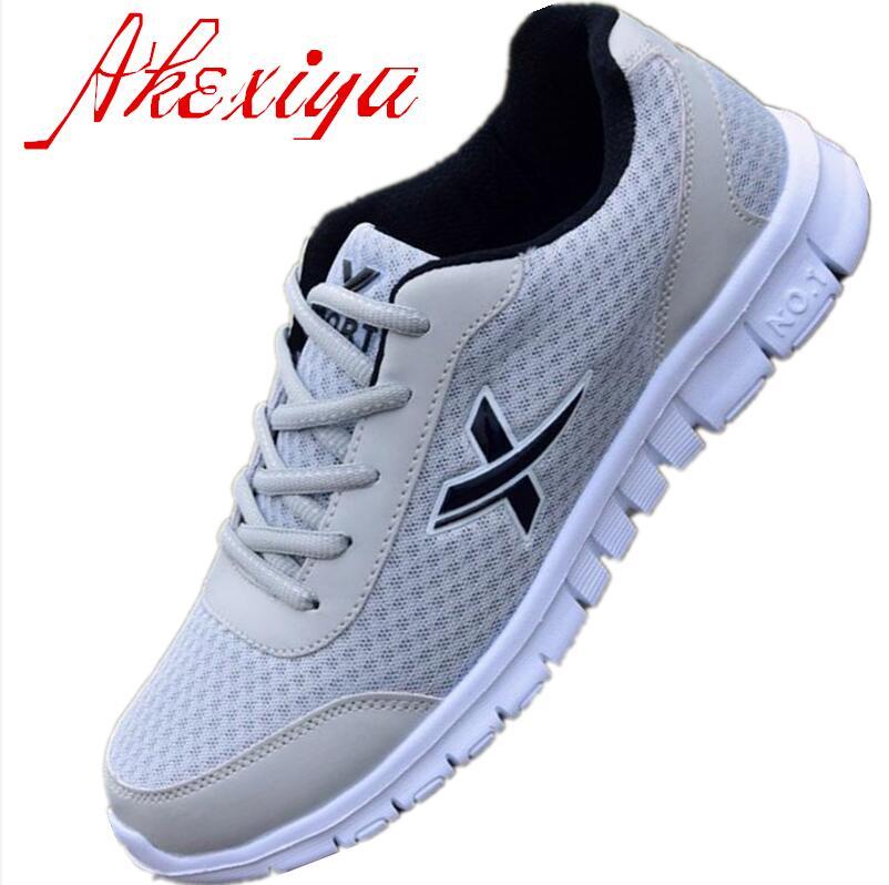 Akexiya  hombres zapatos zapatos de malla transpirable zapatos casuales para hom