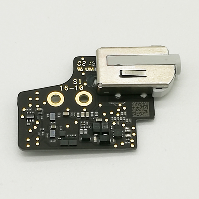 Genuine I/O Audio Board Headphone Jack Plug For Macbook 12 A1534 923-00440 820-4049-11 for macbook air usb i o audio board 820 3213 a 11 laptop a1465 power dc jack md223 md224 2012