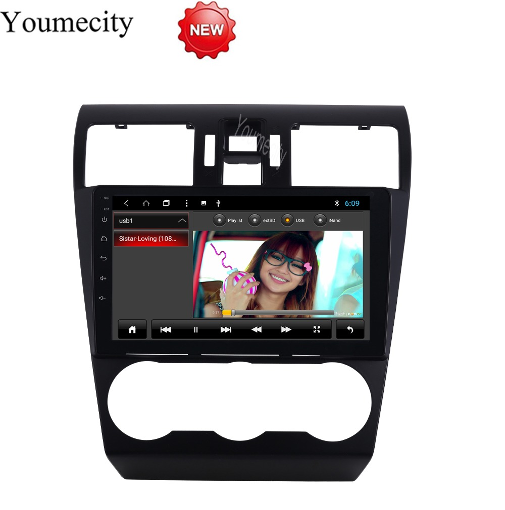 Android 8 1 Octa 8 Core 2G RAM 32G ROM Car DVD Player for Subaru WRX