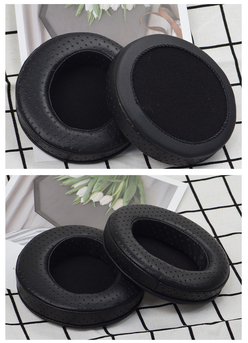 General 110mm Soft Sheepskin Foam Ear Pads Cushions for Headphones Earpads High Quality 12.5 (9)