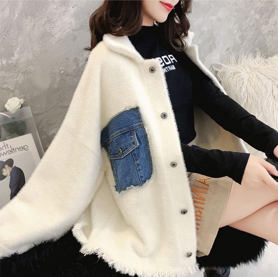 Chaqueta Dulce Frescos Nuevo Borla Bolsillo Abrigo Suéter De Mujer Estilo  Piel Pequeña Otoño PztZZ0 8b7757ab0718