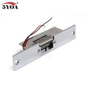 Image 3 - 電気ストライクドアロックアクセス制御システム新フェールセーフ 5YOA 真新しい StrikeL01