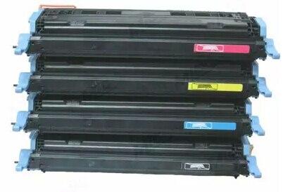 Hisaint Toner cartridge for HP Q6000A Q6001A Q6002A Q6003A for HP Color Laserjet 2605 2605dn