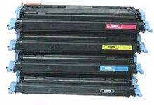 [Hisaint cartucho de toner para hp q6000a q6002a q6001a q6003a para hp color laserjet 2605/2605dn/2605dtn impresora láser