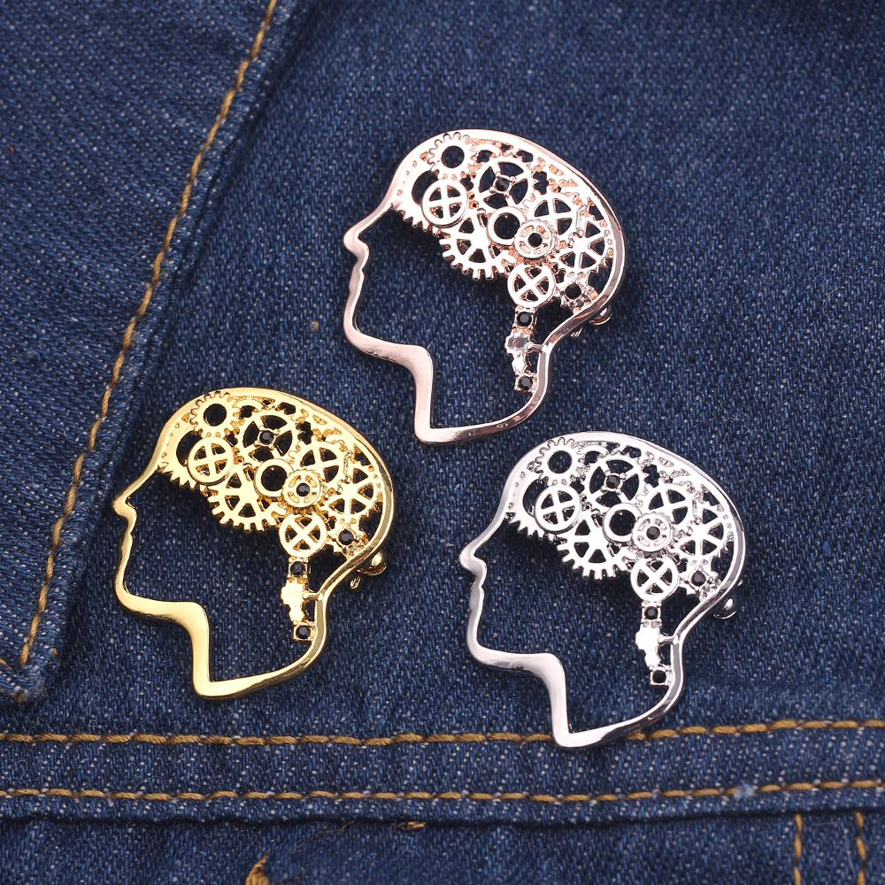 ecc8f5ca95 Brain Medical Pin Anatomy Human Neuroscience Neurologist Doctor ...