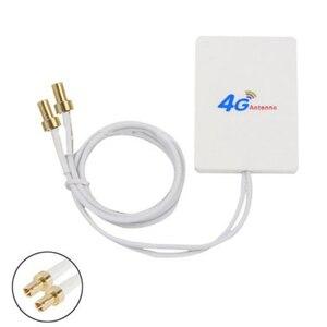 Image 5 - ダブル白 SMA 信号アンプネットワーク外部ケーブルブロードバンド空中垂直 WIFI TS 9 コネクタ LTE アンテナ 28DBI 4 グラム 3 グラム