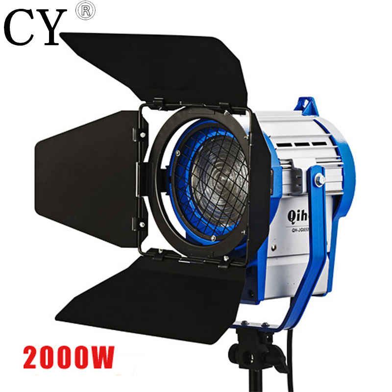 Inno photo vedio studio photography Fresnel Tungsten Video Continuous Lighting with 2000W 110vTungsten bulb as ARRI PAVL9TB professional godox ql1000 1000w photo photography studio video continuous light lighting