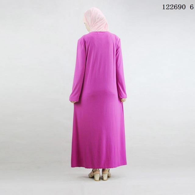 Abaya for women Islamic clothing Crystal cotton