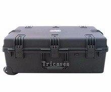Tricases fabryka OEM/ODM twarde IP67 plastikowa duża walizka wózek walizce pianką pociętej M2950