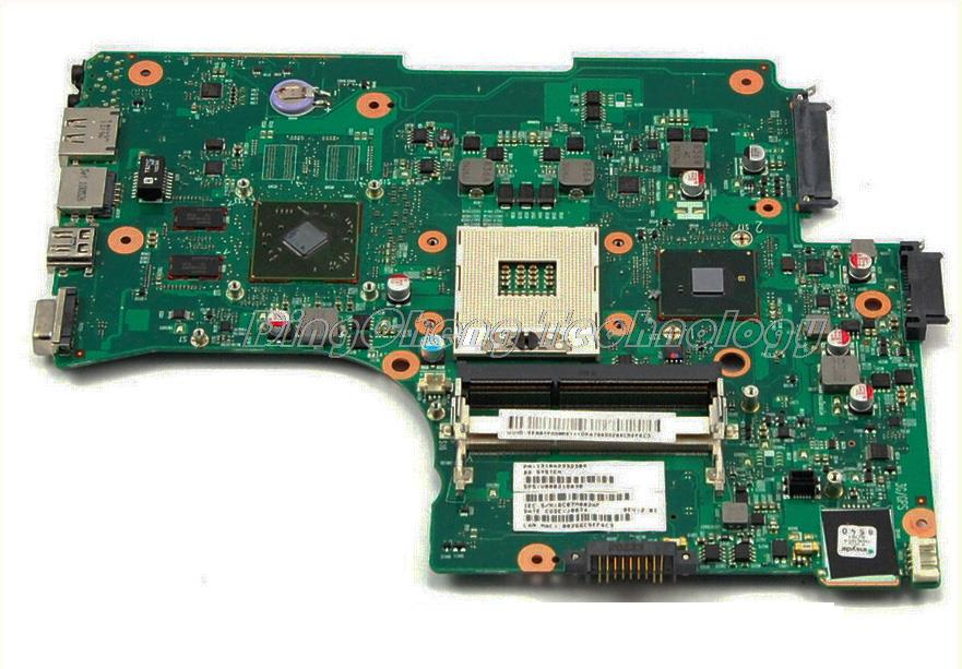 HOLYTIME Laptop Motherboard For Toshiba L650 L655 V000218130 6050A2332301-MB-A02 DDR3 Non-integrated Graphics Card 100% Tested