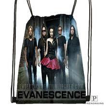 Custom Evanescence Drawstring Backpack Bag Cute Daypack Kids Satchel Black Back 31x40cm 180612 02 7