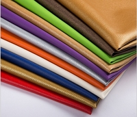 2017 Top Grade Quality Nice PU Leather Faux Leather Fabric For Sewing PU Artificial Leather For