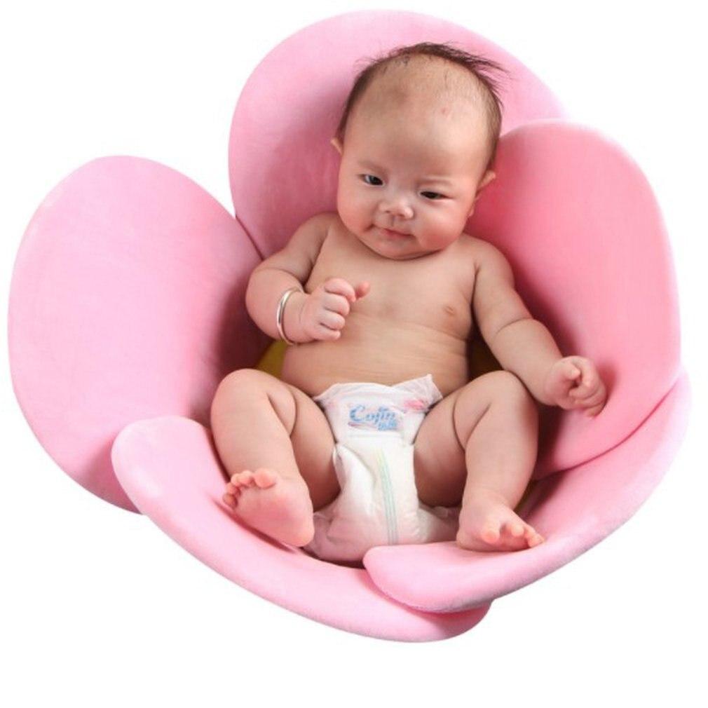 Baby Shower Blooming Flower Newborn Bathtub Foldable Lotus