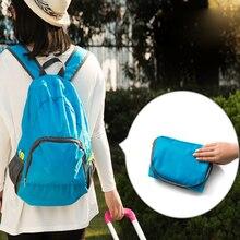 Lightweight Foldable Waterproof Nylon Women Men Children Skin Pack Backpack Travel Outdoor Sports Camping Hiking Bag