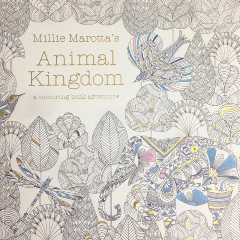 2015 Best Seller Coloring Book For Adult Animal Kingdom Books Adults Chinese Original In From Office School Supplies On