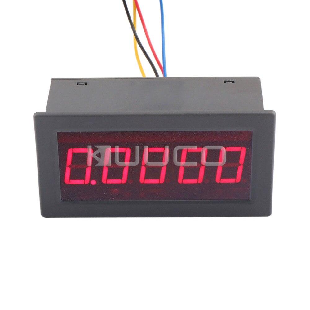 High Voltage Detector With Display : Digital meter quot volt gauge dc v red led