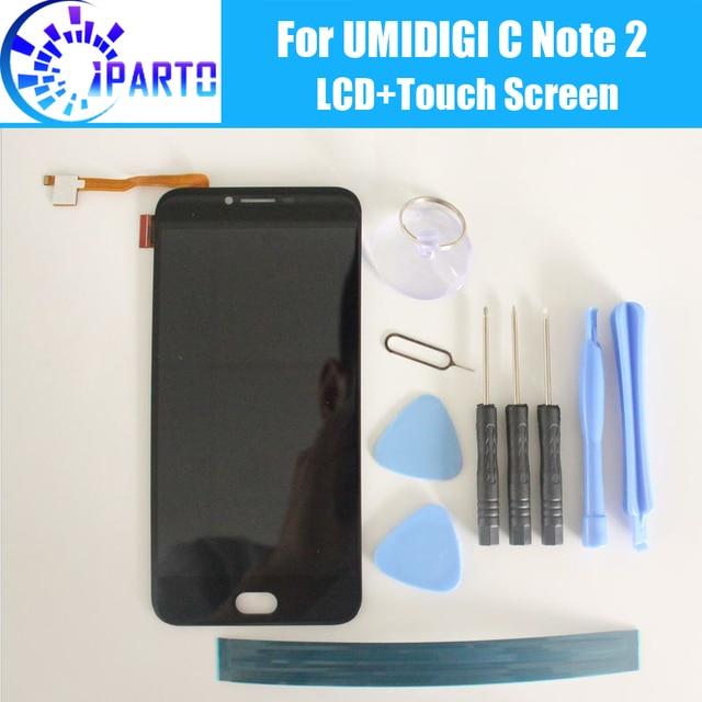 UMIDIGI C uwaga 2 wyświetlacz LCD ekran 100% oryginalny nowy testowany wysokiej jakości zamiennik ekran LCD dla UMI C uwaga 2 + narzędzia