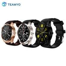 Teamyo K98H smart Сердечного ритма Мониторы Смарт-часы Android 4.1 MTK6572A Водонепроницаемый шагомер браслет с 3 г GPS SmartWatch