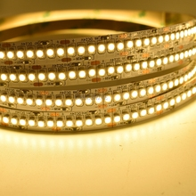 Free Shipping High Density LED Tape Single Row 240 leds/m DC24V SMD 3528 5M flexible strip Light for Indoor Lighting 5M/lot