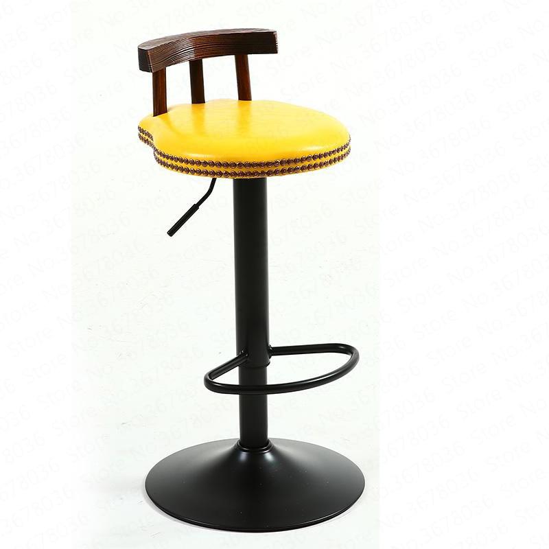 New Bar Stool Modern Minimalist Home Wrought Iron High Stool Bar Stool Chair Bar American Lift Stool