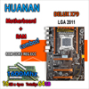 HUANAN Golden Deluxe Version X79 Gaming Motherboard For Intel LGA 2011 ATX 4 Combos 4 X