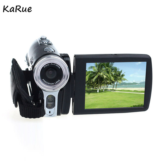 Karue HDV-B11 Portable 2.7 Inch  Digital Video Camera Camcorders DV Rotating LCD Screen Digital Cameras Micro Cameras EU/US Plug