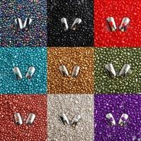 Wholesale prices 450g/Bag 3D Nails Crystal AB Glitter Rhinestone irregular Gems DIY Nails Art Decorations Stones