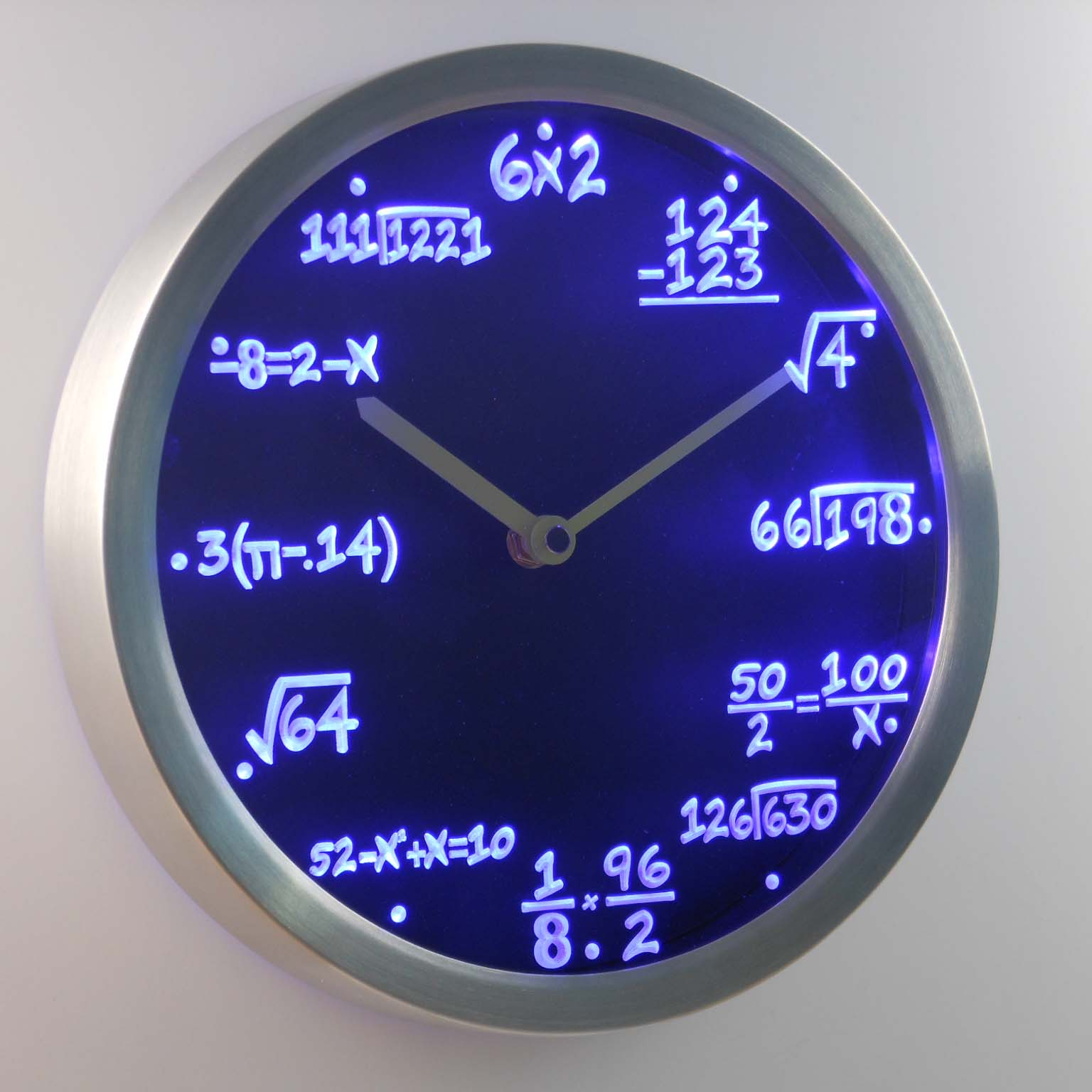 Online Buy Wholesale math wall clocks from China math wall